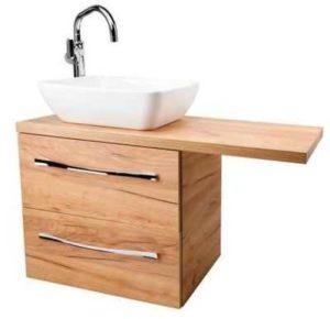 szafka z umywalką nablatową