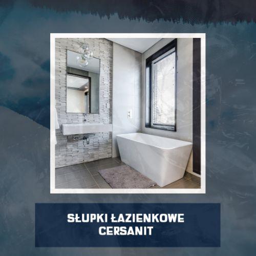 słupki łazienkowe Cersanit